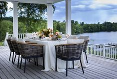 Ljung • Slettvoll Zara Home, Fresco, Outdoor Tables, Outdoor Decor, Inside Outside, Toscana, Outdoor Furniture Sets, Table Decorations, Inspiration