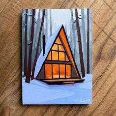Small Canvas Paintings, Small Canvas Art, Mini Canvas Art, Diy Canvas, Canvas Painting Tutorials, Acrylic Art, Watercolor Art, Art Drawings, Beautiful Artwork
