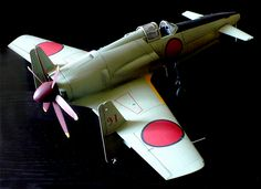 Kyushu J7W1 Shinden  - 2 by WarrenZoell.deviantart.com on @deviantART
