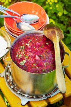 Lammasborssikeitto | K-Ruoka Russian Image, Russian Recipes, Russian Foods, Chowder, Stew, Salsa, Mexican, Koti, Ethnic Recipes