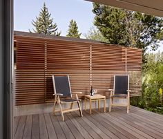 Add a Screen - A garden screen will give you added privacy from neighbours. >> Garden Decking Idea.