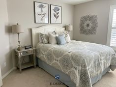 Is Beige Back? You Might Be Surprised! - Is Beige Back? You Might Be Surprised! Sherwin Williams Accessible Beige in guest bedroom with beig - Guest Room Paint, Guest Bedroom Colors, Bedroom Paint Colors, Bedroom Ideas, Bedroom Neutral, Neutral Walls, Guest Bedrooms, Master Bedroom, Best Neutral Paint Colors
