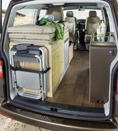 Vom Alltagsfahrzeug zum Urlaubscamper - in 2 Minuten. So bewirbt Hymer den neuen HYMERCAR - den Cape Town, der auf VW T5 Basis aufgebaut ist...
