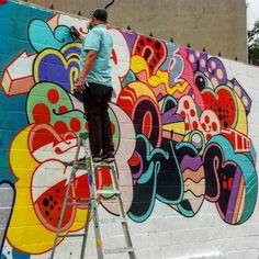 Image result for 2nd street district mural parking garage guadalupe