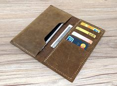 Leather iPhone 6s Case iPhone 6 Plus Wallet iPhone 6 by SkyWoo
