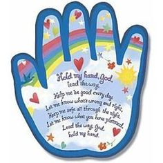 Hold My Hand Shaped Plaque | The Catholic Company