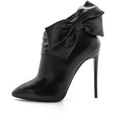 Giuseppe Zanotti Leather Booties - Black ($359) ❤ liked on Polyvore featuring shoes, boots, ankle booties, booties, ankle boot, black leather booties, black leather boots, black high heel booties, black leather bootie and black ankle boots