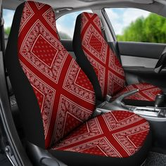 Maroon Bandana Car Seat Covers from The Bandana Blanket CompanyYou can find Seat covers and more on our website.Maroon Bandana Car Seat Covers from The Bandana Blanket Company