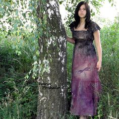 Na vážkách - šaty (vyrobím na míru)