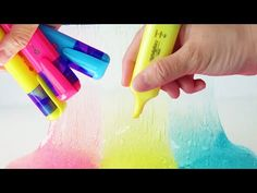 Diy glue stick slime without borax how to make slime with glue how to make slime with highlighter diy slime no borax or liquid starch by bum bum surprise toys youtube ccuart Choice Image
