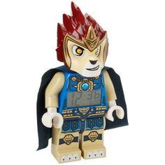 Lego Legends of Chima Laval Minifigure Clock