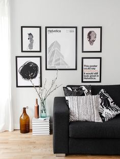 How to create a poster wall | NORDIC LIVING by Nordic Design Collective