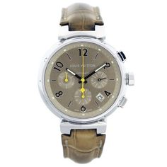 Louis Vuitton Q1122 Tambour Chronograph Mens Watch. Get the lowest price on Louis Vuitton Q1122 Tambour Chronograph Mens Watch and other fabulous designer clothing and accessories! Shop Tradesy now