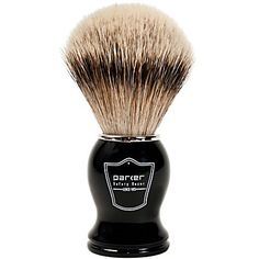 Buy Parker BHST Silvertip Badger Shaving Brush, Black Handle from West Coast Shaving with returns Badger Shaving Brush, Shaving Tips, Wet Shaving, Acrylic Brushes, Plastic Bowls, Skin Care Cream, Safety Razor, Men's Grooming