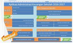 Aplikasi Administrasi Keuangan Sekolah Lengkap 2016-2017 Microsoft Excel, Google Drive, Education, Dahlia, School, Diy, Crafts, Manualidades, Bricolage