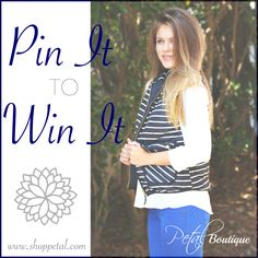 Pin It To Win It! Our Most Coveted Vest Ever! this would look perfect with my new bean boots