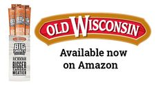 The Old Wisconsin Big Smokey Turkey Stick Caddy, 14 Count is now available on Amazon! Get these protein-packed (16 grams!) portable snacks sent right to your door. #protein #OWSentry