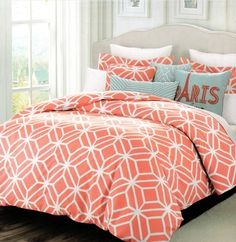 Total Fab: Peach Colored Comforters & Bedding Sets