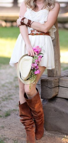 I'm not a country girl, but I love the country style.