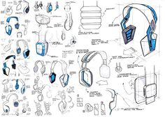 Headphone Concept Generation on Behance