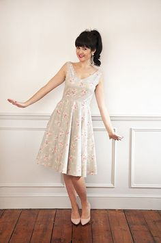 NEW! Betty Dress Sewing Pattern Add-on Pack: Necklines and Sleeve!