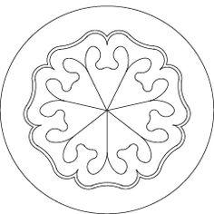 Waldorf ~ Rhythm ~ Friday: Venus ~ The seven planetary seals are images drawn by Rudolf Steiner