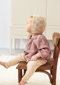 Oppskrifter - Baby - Strikke - Norsk - Sandnes Garn Winter Hats, Tights, Crochet Hats, Children, Mini, Threading, Navy Tights, Knitting Hats, Young Children