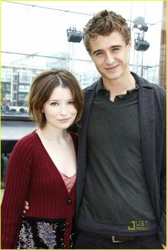 Emily Browning & Max Irons: Front Row at Louis Vuitton!
