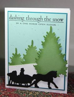 In a Winter Wunderland by CAKath - Cards and Paper Crafts at Splitcoaststampers