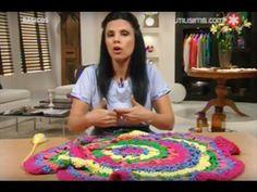 Mabel Gomez - Bienvenidas TV - Explica como hacer un hermoso Chaleco Circular. - YouTube