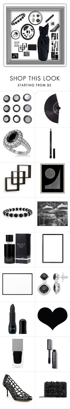 """Night  Stylin' Collaboration"" by mcronald-denise ❤ liked on Polyvore featuring Allurez, Givenchy, Danya B, Bling Jewelry, Kenneth Cole, Bomedo, By Lassen, Dana Buchman, Nicka K and Brika"