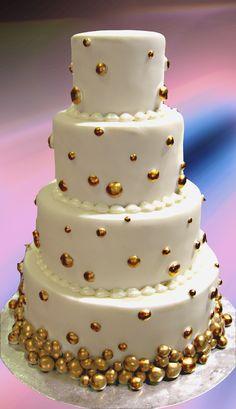 Golden Balls Cake ― House of Cakes Dubai