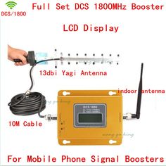 >> Click to Buy << 13db yagi+LCD mobile phone 2G 4G GSM DCS 1800mhz signal boosters,cellular phone DCS 1800 signal repeater DCS signal amplifier #Affiliate