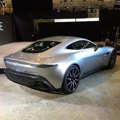 Aston Martin DB10 Debuts for James Bond 007 Spectre Movie http://www.automotiveaddicts.com/49802/aston-martin-db10-debuts-for-james-bond-007-spectre-movie