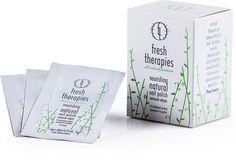Fresh Therapies Natural Nail Polish Remover Wipes
