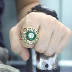 Custom 1981 Boston Celtics Basketball World Championship Ring