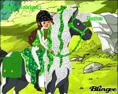 alma+rodriguez+horseland | Alma Rodriguez and Button