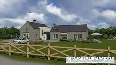 Irish House Plans dorm152 Modern Bungalow House, Cottage Style House Plans, Country House Plans, Bungalow Extensions, House Extensions, House Designs Ireland, Cottage Extension, Irish Cottage, Farmhouse Remodel