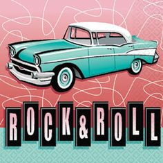 rock and roll car