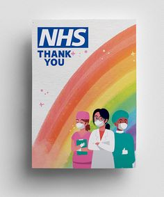 High quality colourful posters to Say Thank You to NHS doctors, nurses, staff, who have been fighting with Coronavirus BIG THANK YOU to NHS Thank You Poster, Save Life, Manga Drawing, My Design, Poster Prints, Poster Designs, Free, Color, Colour