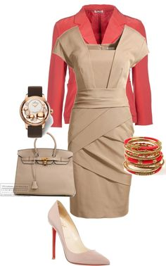 """Office outfit"" by london2000 on Polyvore"
