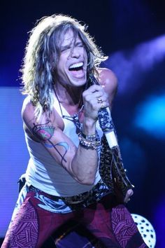 ♥ROCK♥ 6 STEVEN TYLER SINGING                                                                                                                                                                                 Mais