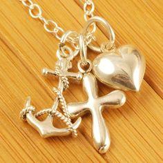 Faith, Hope, Love. I love this!