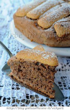 Torta semplice al cacao con pavesini ricetta veloce vickyart arte in cucina