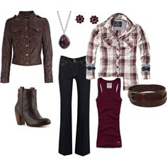 """""""Purple Plaid"""" by cpchadwell on Polyvore"""