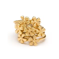 Full bouquet in bloom of stackable mini flower rings. Gifts For My Girlfriend, Flower Rings, Stackable Rings, Special Gifts, Jewerly, Best Gifts, Bouquet, Bloom, Stud Earrings