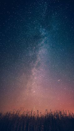 Milky-Way-Galaxy-From-Earth-Infinite-Stars-iPhone-Wallpaper