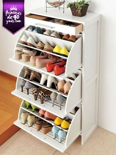 Perfecto para mantener mis zapatos en orden. #tip #perfect #shoes #PrincesasDe40