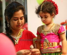 Baby in Uncut Set and Vaddanam | Jewellery Designs