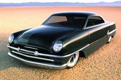 """1954 Plymouth Belvedere """"Sniper"""", another automotive sculpture, Viper powered, by Rad Rides by Troy."""